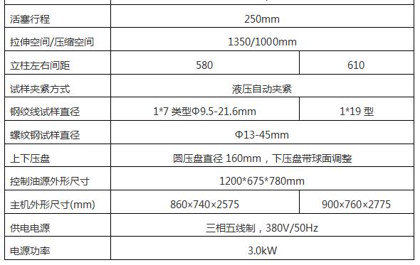 100吨1000KN微机控制锚杆锚索拉力试验机