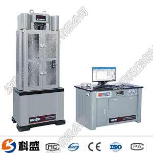塘沽区WAW-D微机控制电液伺服万能试验机